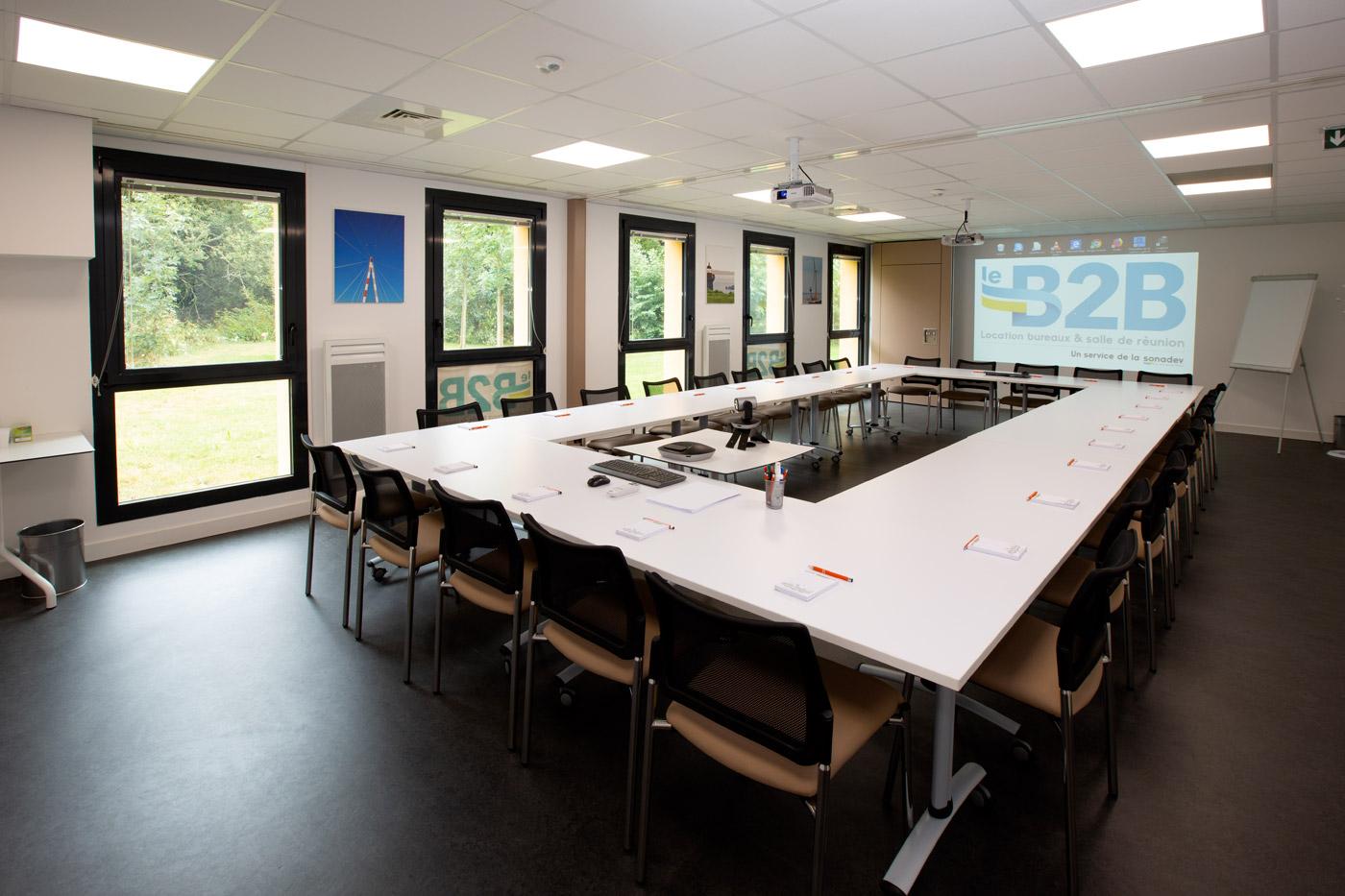 brancher à la réunion de classe