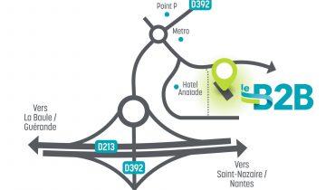 plan-acces-b2b-location-bureaux-salle-reunion-saint-nazaire